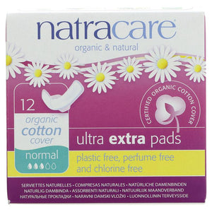 Natracare Ultra Pads Normal with Wings