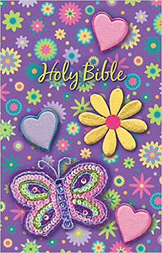 Holy Bible Shiny Sequin Purple