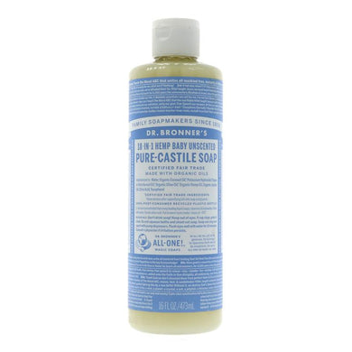 Dr Bronner 18-in-1 Baby Mild Pure Castile Soap