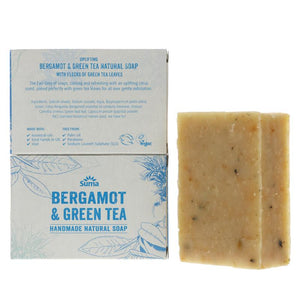 Bergamot & Green Tea Handmade Natural Soap
