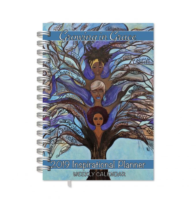Inspirational Planner 2019: Growing in Grace