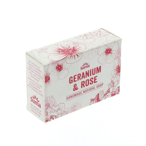 Suma Soap: Geranium and Rose