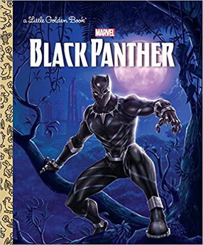 Little Golden Books Black Panther