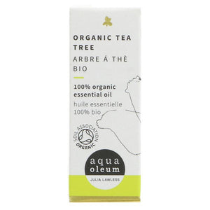Aqua Oleum Organic Tea Tree Essential Oil