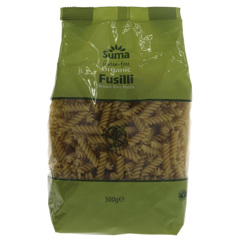 Suma Brown Rice Fusilli 500g