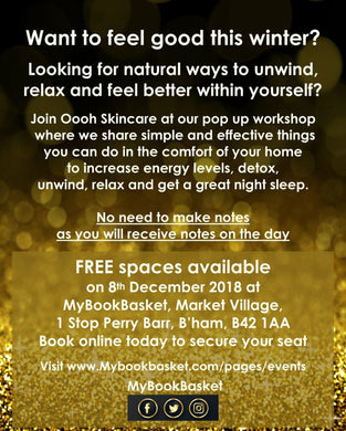 Oooh Skincare Free Workshop