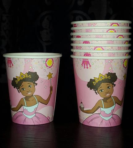 Pretty Princess Party Cups