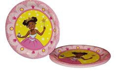 Pretty Princess Party Plates