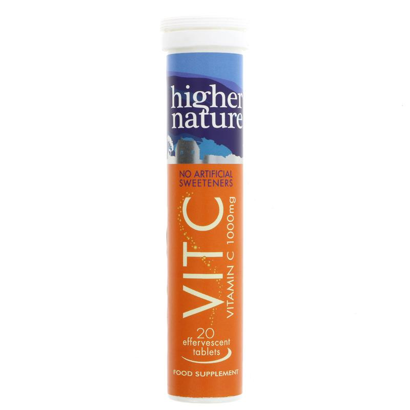 Higher Nature Vit. C Effervescent Tablets