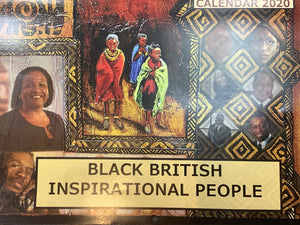 Black British Inspirational People Calendar 2020
