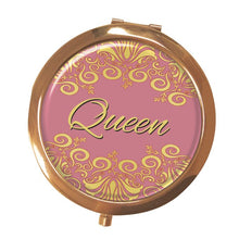 Queen Magnifying Compact Mirror