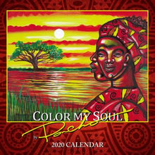 Shades 2020 Calendar: Color My Soul