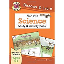 CGP Discover & Learn Year Two Science Study & Activity Book