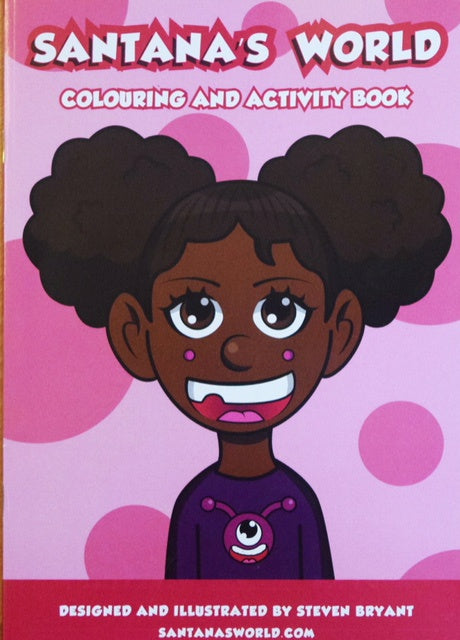 Santana's World Activity Book