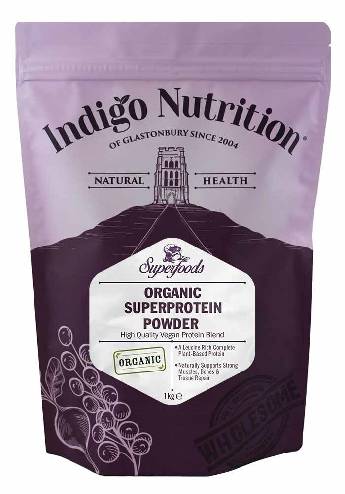 Indigo Nutrition Organic Super Protein Powder