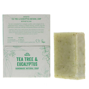 Tea Tree & Eucalyptus Handmade Natural Soap