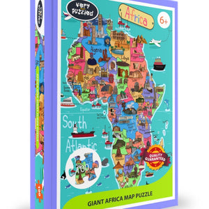 Giant Africa Map Puzzle