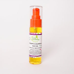 Rosehip and Calendula Face Oil - Intense Hydration