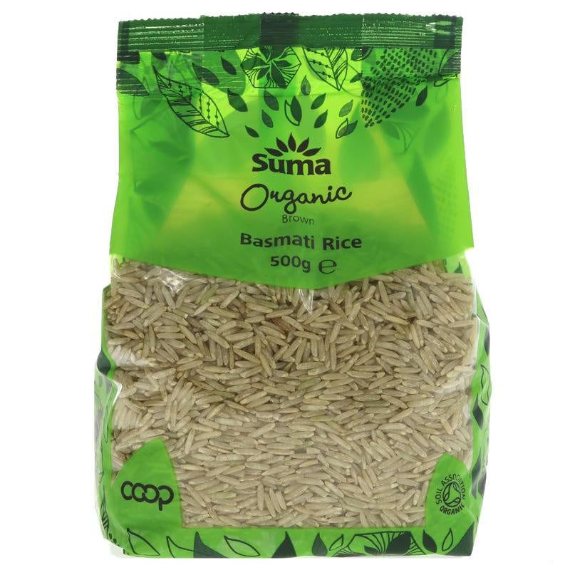 Suma Organic Brown Basmati Rice 500g