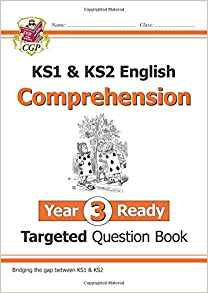 CGP KS1 & KS2 English Comprehension Targeted Question Book