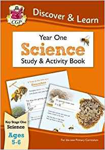 CGP Discover & Learn Year One Science Study & Activity Book