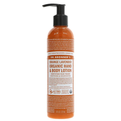 Dr Bronner's Orange Lavender Organic Hand & Body Lotion