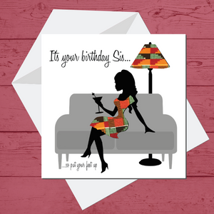 AT Womens Greeting Card