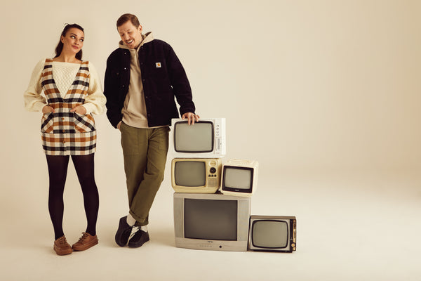 AW21 Campaign imagery - featuring Gizzi & Professor Green