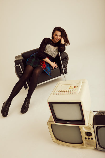 AW21 Campaign imagery featuring Gizzi
