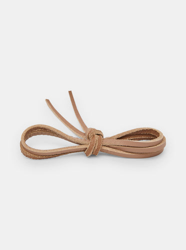 Yogi Leather Laces 150cm - Beige