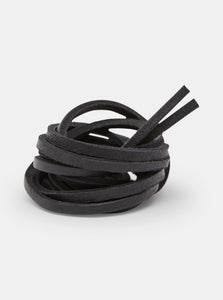 Yogi Leather Laces 150cm - Black
