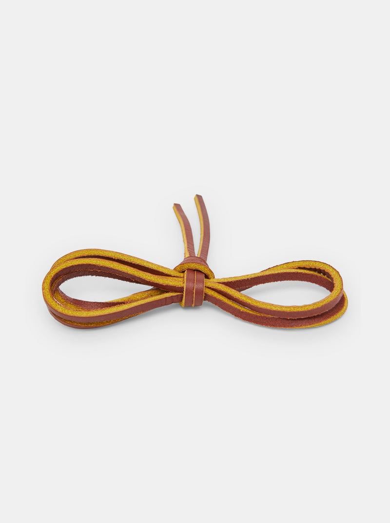 Yogi Leather Laces 90cm - Brown
