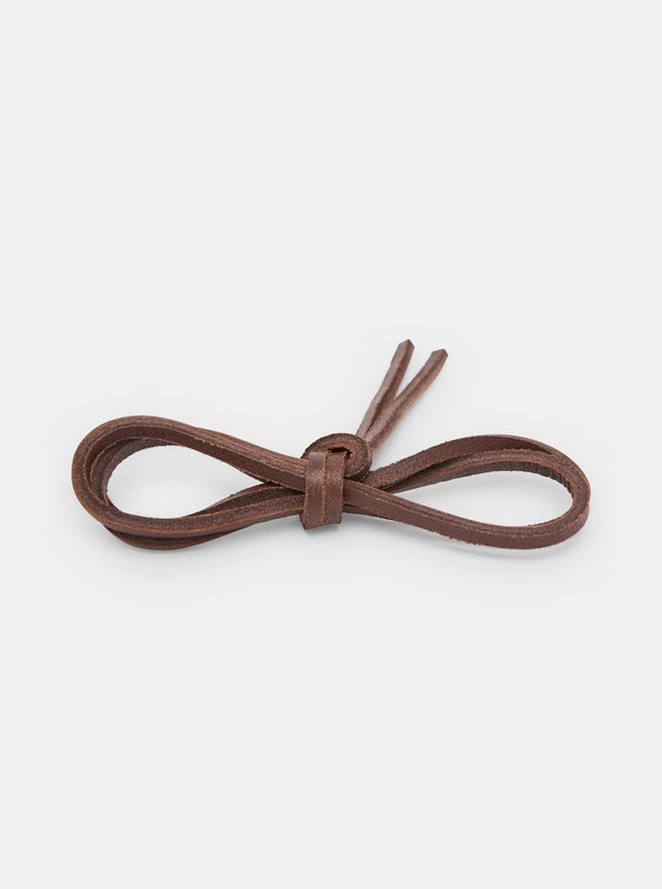 Yogi Leather Laces 150cm - Mahogany