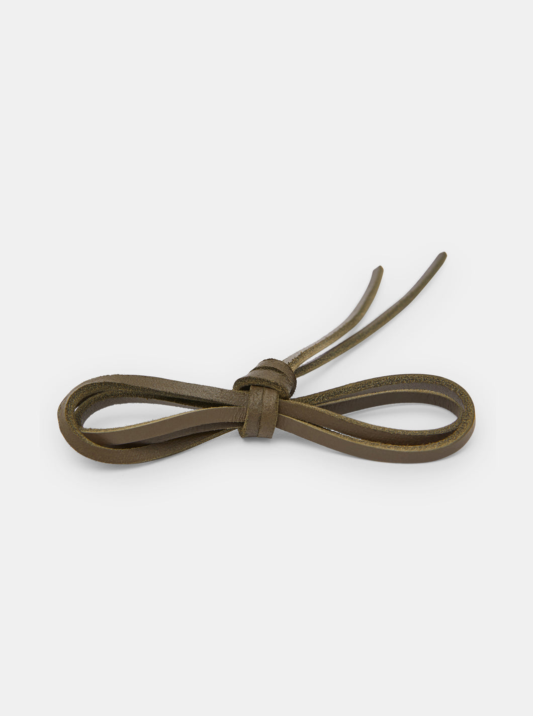 Yogi Leather Laces 150cm - Olive