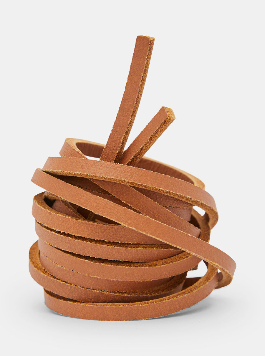 Yogi Leather Laces 150cm - Tan