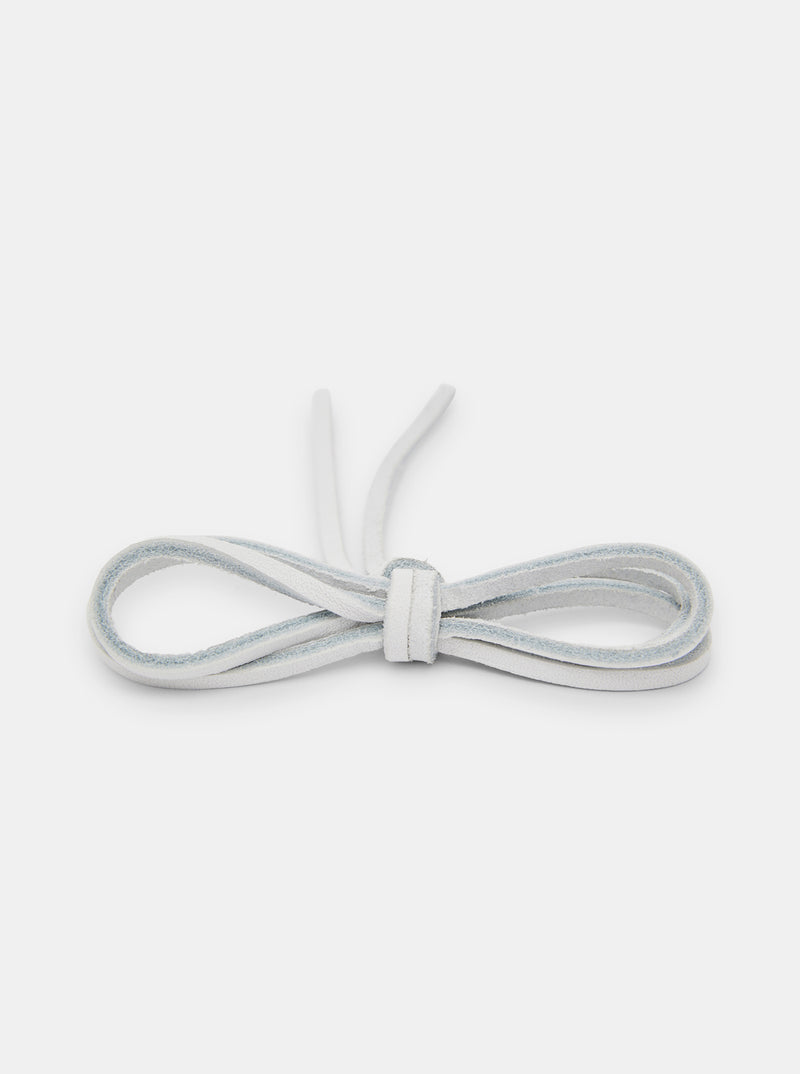 Yogi Leather Laces 150cm - White