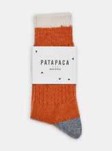 Load image into Gallery viewer, Patapaca Melange Socks - Orange Marl