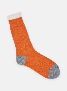 Patapaca Melange Socks - Orange Marl