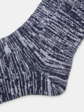 Load image into Gallery viewer, Patapaca Raw Socks - Blue Marl