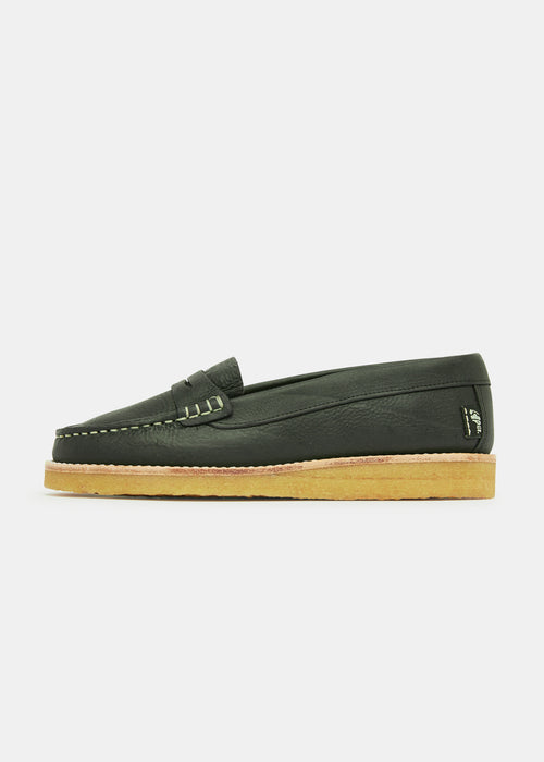 Rudy Womens Loafer Nubuck  - Black