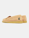 Rudy Womens Loafer Nubuck - Nude Pink