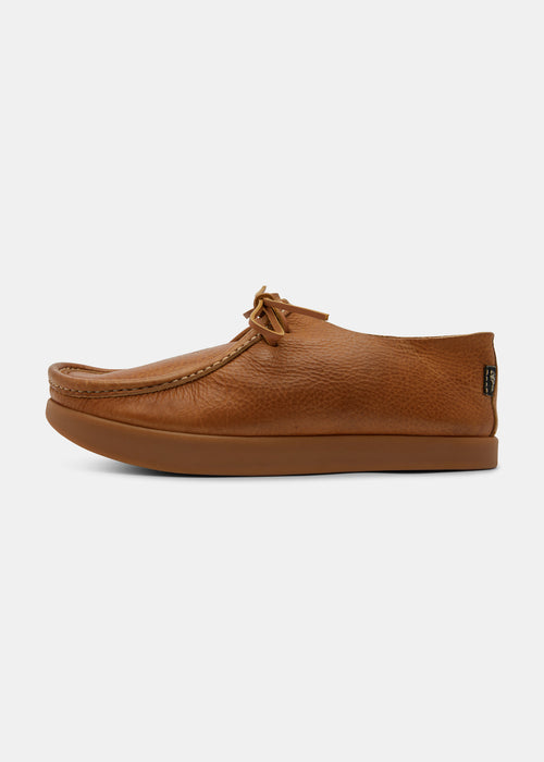 Willard Tumbled Leather Shoe - Tan