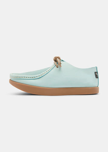 Willard Womens Nubuck Shoe - Light Blue