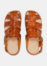 Load image into Gallery viewer, Elba Womens Leather Sandal - Apricot