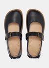 Sharpe Womens Leather Sandal - Navy