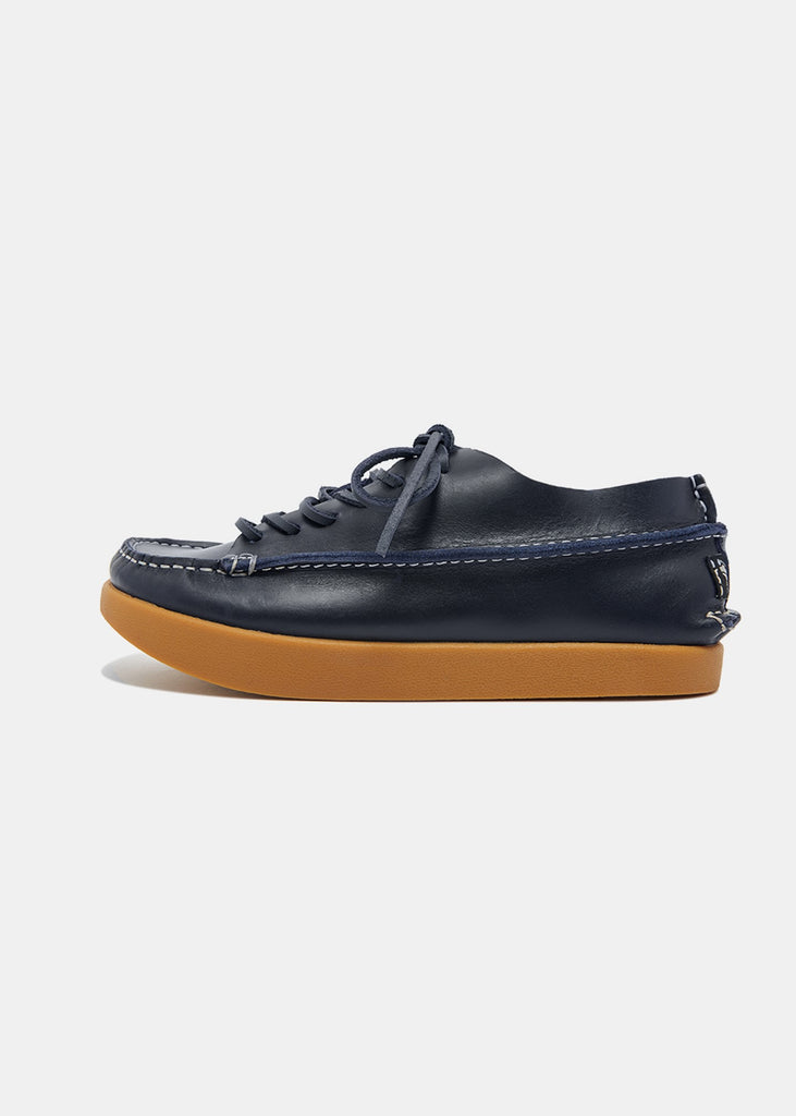 Finn Womens Leather Shoe - Navy