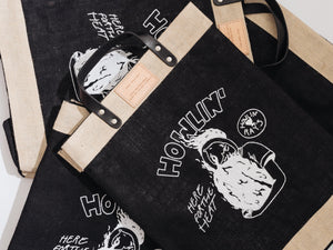 APOLIS x HOWLIN' REAPER GIRL MARKET BAG