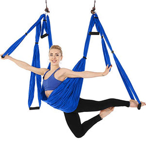 Large Bearing Aerial Yoga Trapeze Hammock-lOOkME - H