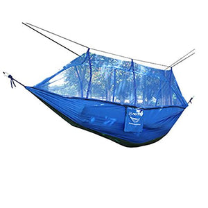 Parachute Double Camping Hammock with Mosquito Net - Glumes