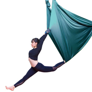 LWKBE Yoga Hammock 5.5 Yards Aerial Silk Swing Set